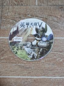 正版电脑游戏光盘   魔法门英雄无敌5