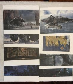 权力的游戏艺术设定集豪华限量编号签名版Art of Game of Thrones limited edition