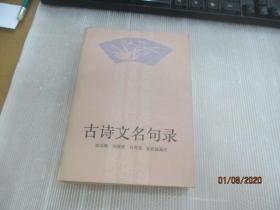 古诗文名句录.