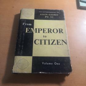 从皇帝到公民——我的前半生   (英文)上册