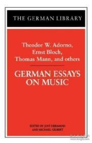 German Essays On Music-德国音乐随笔