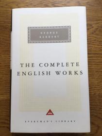 The Complete English Works by George Herbert 乔治·赫伯特英语作品集 Everyman's Library 人人文库 全网最低价包邮(人人文库全场2件9.5折,3件9折)