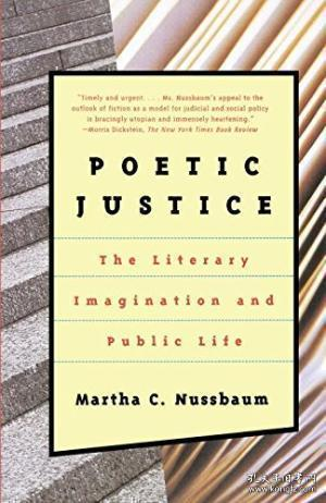Poetic Justice:The Literary Imagination and Public Life