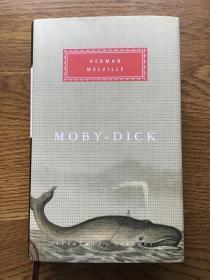 Moby-dick 白鲸 Herman Melville 赫尔曼麦尔维尔 Everyman's Library 人人文库 全网最低价包邮(人人文库全场2件9.5折,3件9折)