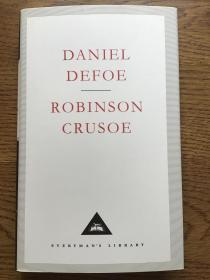 Robinson crusoe 鲁滨逊漂流记 Daniel Defoe 丹尼尔·笛福 Everyman's Library 人人文库 全网最低价包邮(人人文库全场2件9.5折,3件9折)