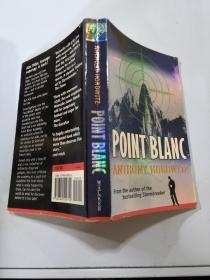 point blanc Anthony horowitz:要点白