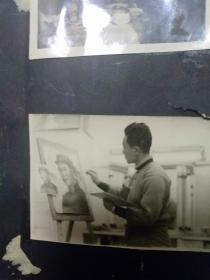 为毛主席画像的工作照片