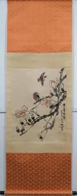 王炳龙花鸟画立轴,包老包手绘。