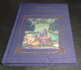 2手英文 Indian Miniatures 印度细密画 小本 fa12