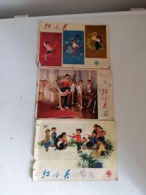 红小兵(1973年21期、22期/ 1974年17期合售)见图描述