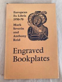 欧洲雕版藏书票:Engraved Bookplates: European Ex Libris, 1950-1970 藏书票大全 仅印2000册其中1100册流通
