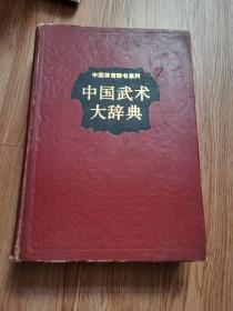 中国武术大辞典