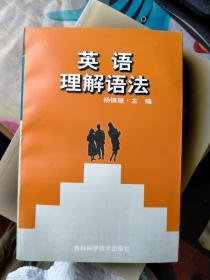 英语理解语法    老库存新书.