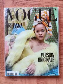 【黎汉娜专区】Vogue Paris 2017年12月号-2018年1月号 时尚杂志  Rihanna 蕾哈娜 单一封面