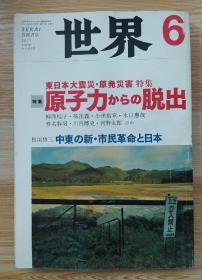 日文原版书 世界 2011年 06月号 [雑志]
