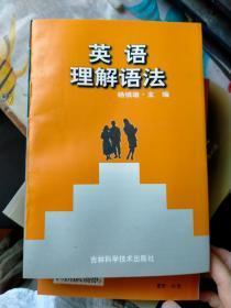 英语理解语法    老库存新书