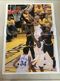 篮球先锋报 海报 詹姆斯上篮