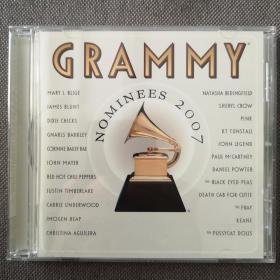 2007 GRAMMY Nominees-藝人:歐美群星-格萊美的喝彩20007-歐美版正版CD