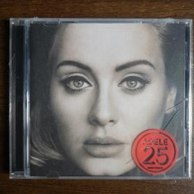 25-藝人:Adele-阿黛爾-流行靈魂樂-歐美版打口正版CD