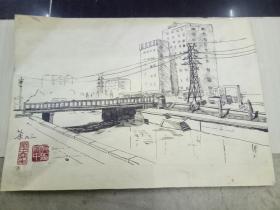 橋頭堡素描