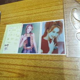 李玟早期照片2張