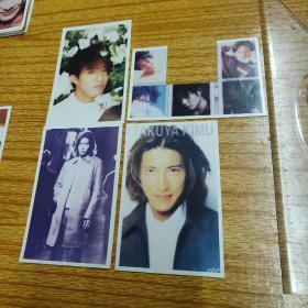 早期明星照片3張+1張殘品