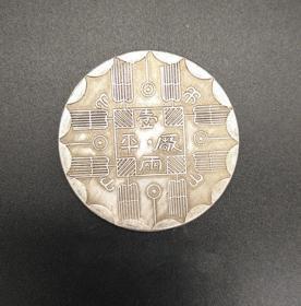 光緒八年吉林機器局官局制造銀元