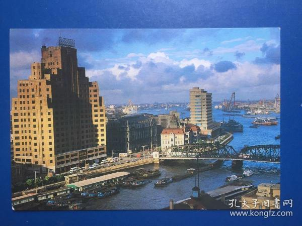 明信片/上海外白渡橋