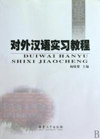 對外漢語實習教程