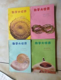 数学大世界(四册合售:数的畅想曲.代数的威力.几何的宝藏.传奇与游戏.近9品)