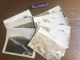 二十年代旅顺照片6张、明信片4张,共十张