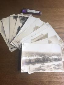 二十年代奉天照片5张、明信片4张,共9张