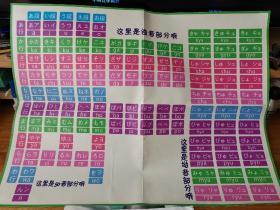 日语五十音图挂画