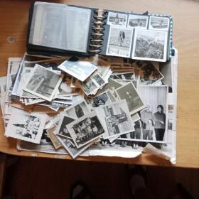 老照片及底片一堆一册