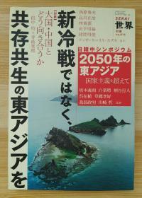 日文原版书 世界 2011别册 [雑志]