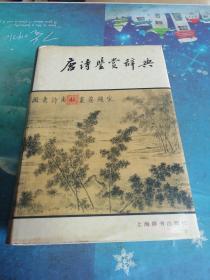 唐诗鉴赏辞典 精装本