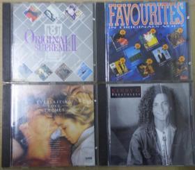 ORIGINAL SUPREME II KENNY G EVERLASTING LOVE THEMES   FAVOURITES IN ORIGINALS 7  T113版  旧版 港版 原版 绝版 CD