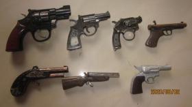 枪形打火机 七种合售