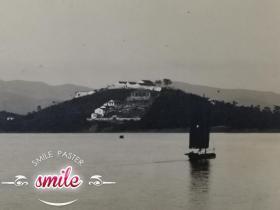 民国无锡风景照太湖小蓬莱