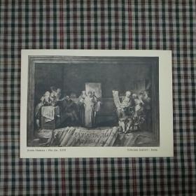基督教场景明信片