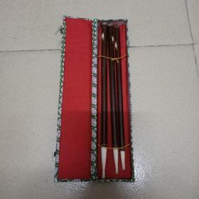 五六十年代 金兽牌 中国湖笔 毛笔3支合拍 未使用 办公桌
