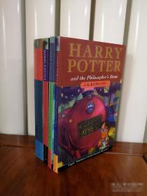 Harry Potter  哈利波特,英文书,哈利波特1-2-3-4共4本,瑕疵如图,介意勿拍,包邮