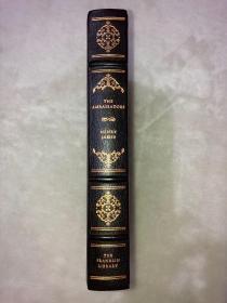 Franklin library真皮限量本:The Ambassadors 《奉使记》世界永恒经典100本名著系列丛书