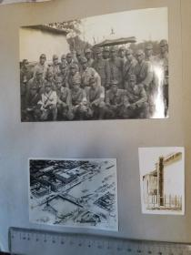 民国北京及上海日占时期航拍及街景老照片共六张