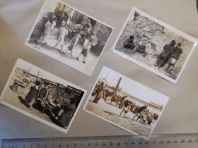 民国北京日占时期北京城周边民俗老照片共五张