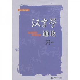 正版二手 汉字学通论 孔祥卿  著 北京大学出版社 9787301080115