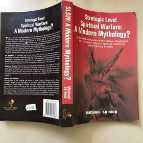 Strategic level spiritual warfare A modern mythology