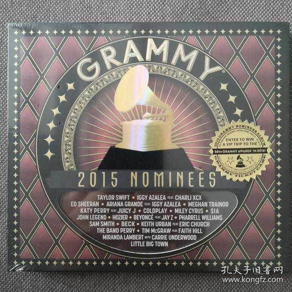 2015 GRAMMY Nominees-藝人:歐美群星-格萊美的喝彩2015-歐美版正版CD