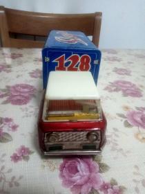 老鐵皮玩具 運羊車