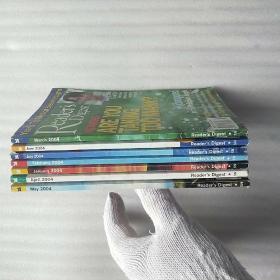 Readers Digest  2004年 共7本合售 看图